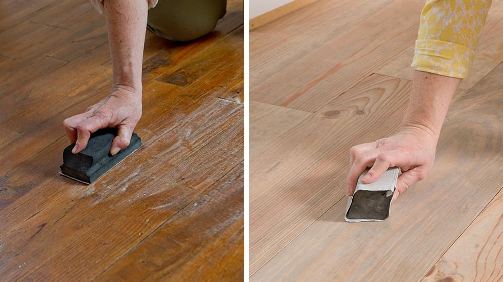 Choix et application des peintures pour parquets